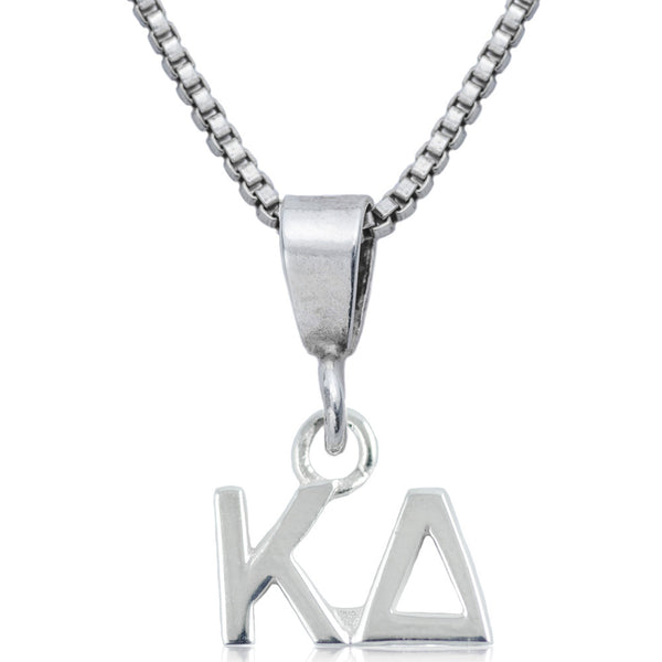 Sorority Kappa Delta Sterling Silver Necklace