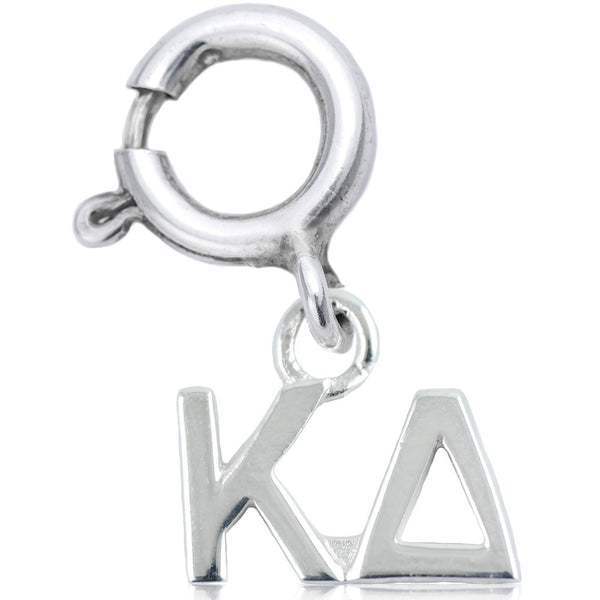 Sorority Kappa Delta Charm in Sterling Silver