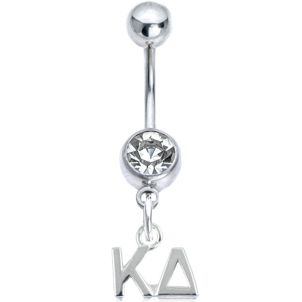Sorority Kappa Delta Belly Button Ring