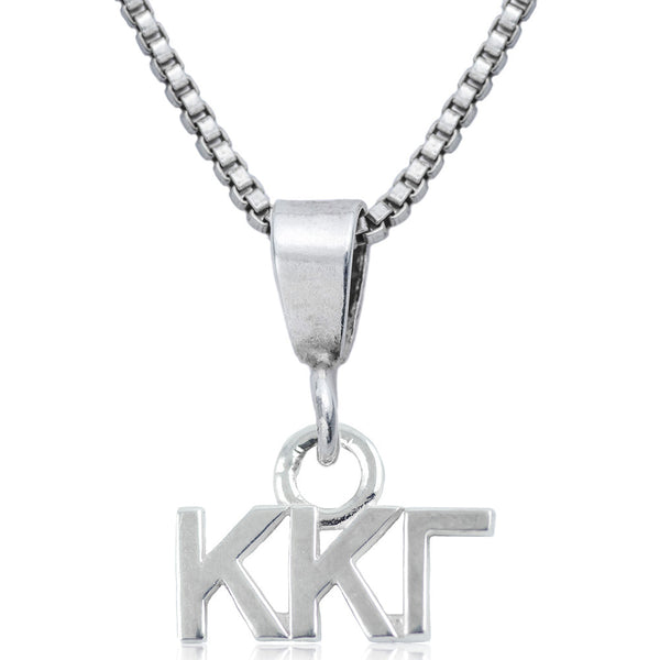 Sorority Kappa Kappa Gamma Sterling Silver Necklace