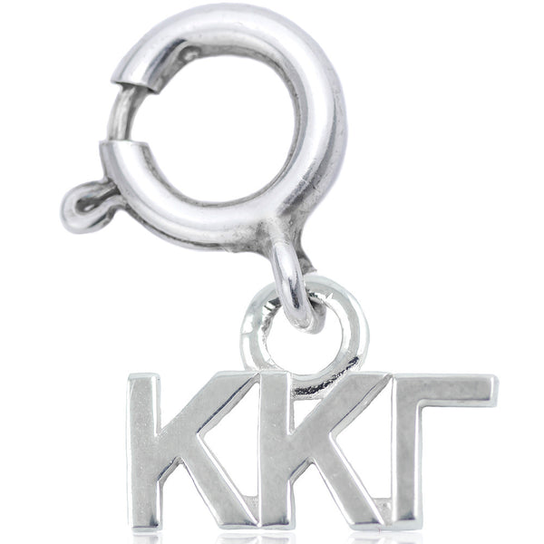 Sorority Kappa Kappa Gamma Charm in Sterling Silver