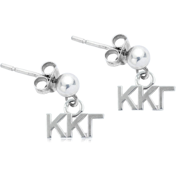 Sorority Kappa Kappa Gamma Post Dangle Earrings