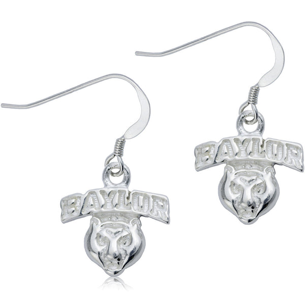 Collegiate Baylor University Dangle Earrings