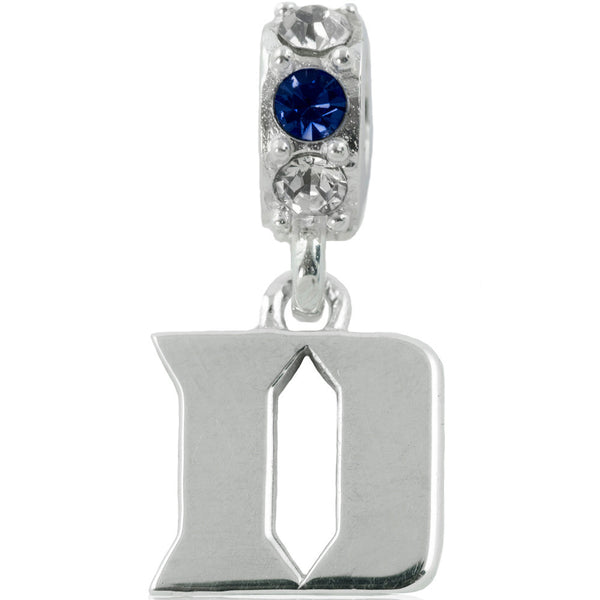 Collegiate Duke University Colorful Spirit Slider Bead