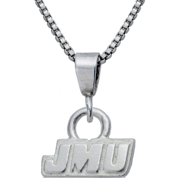 Collegiate James Madison University Logo Necklace