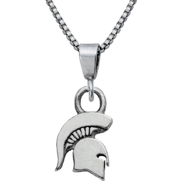 Collegiate Michigan State University Spartan Necklace