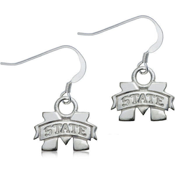 Collegiate Mississippi State University Dangle Earrings