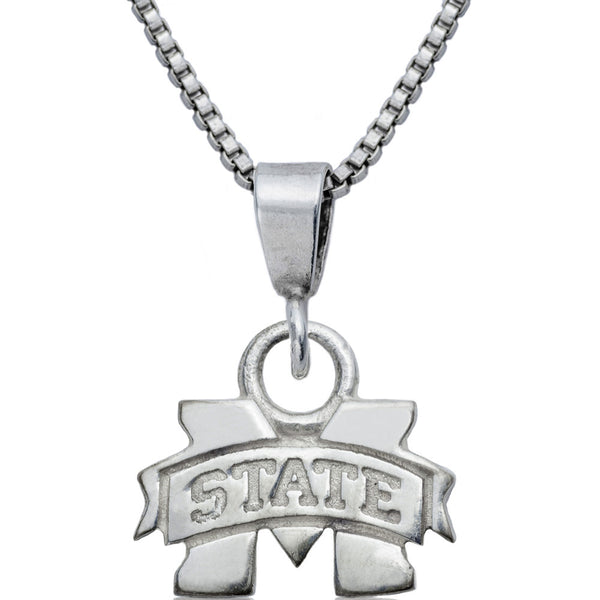 Collegiate Mississippi State University Logo Necklace