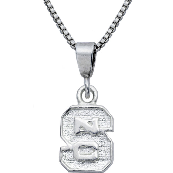 Collegiate North Carolina State University Logo Necklace
