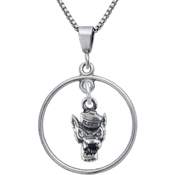 Collegiate North Carolina State University Wolfpack Open Drop Necklace