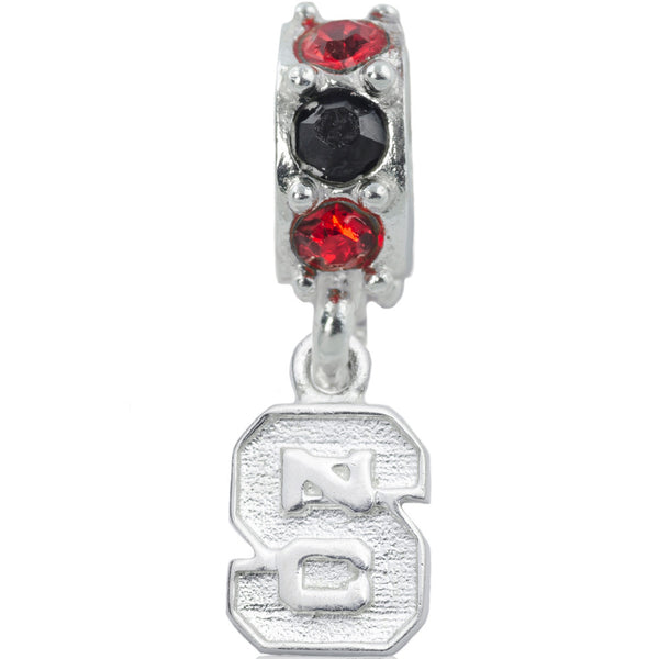 Collegiate North Carolina State University Logo Spirit Slider Bead