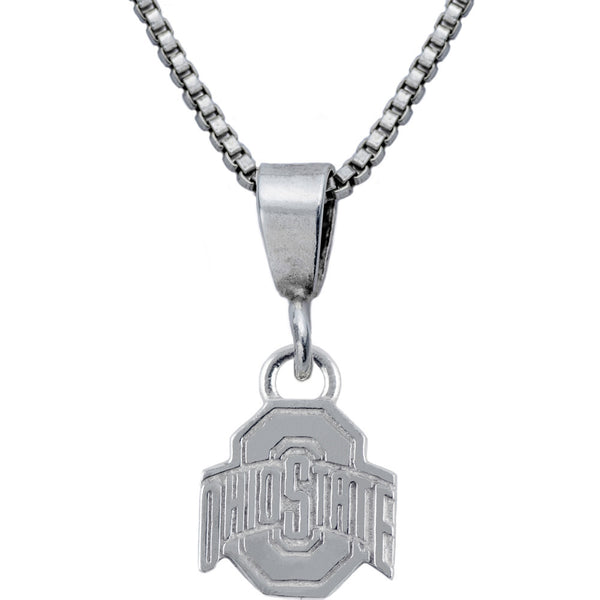 Collegiate Ohio State University Logo Necklace
