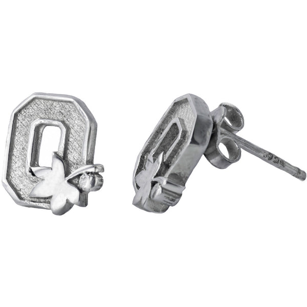Collegiate Ohio State University Buckeyes Stud Earrings