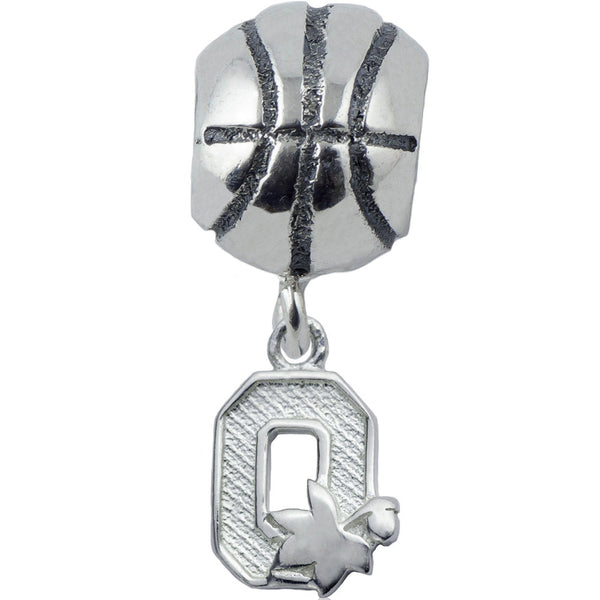 Collegiate Ohio State University Basketball Slider Bead