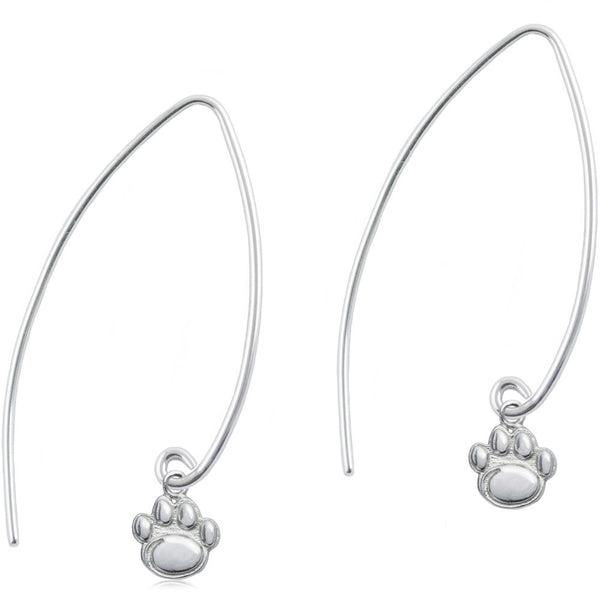 Collegiate Penn State University Long Fishhook Earrings