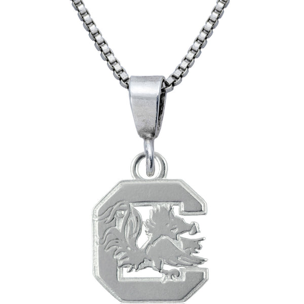 Collegiate University of South Carolina Logo Necklace