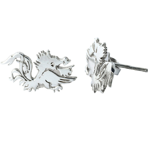 Collegiate University of South Carolina Gamecocks Stud Earrings