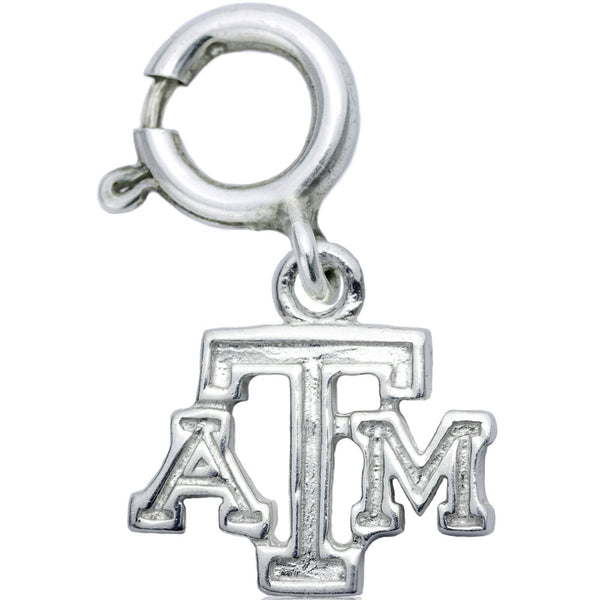 Collegiate Texas A&M Logo Spring Ring Charm