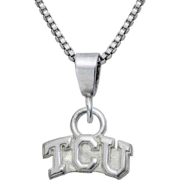 Collegiate Texas Christian University Logo Necklace