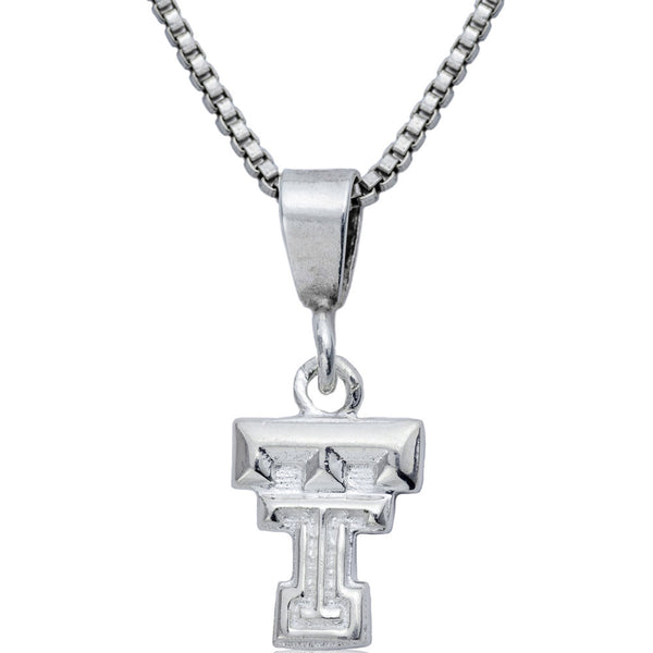 Collegiate Texas Tech University Logo Necklace
