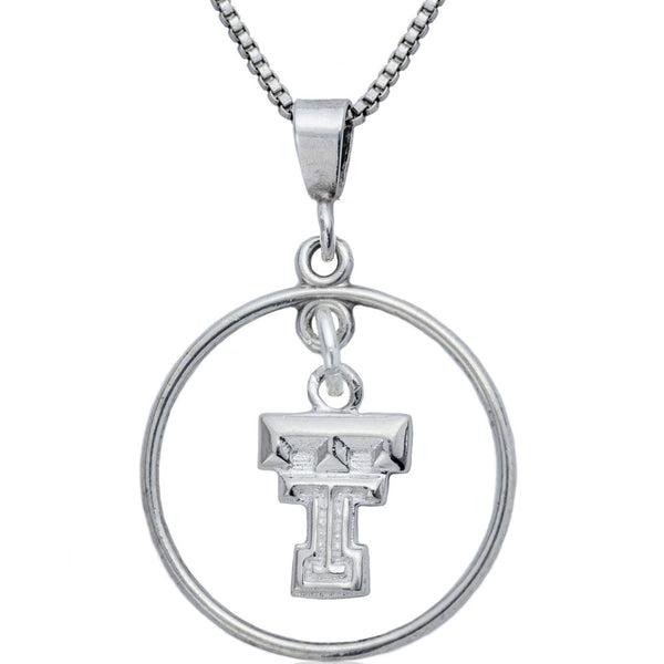 Collegiate Texas Tech University Open Drop Necklace