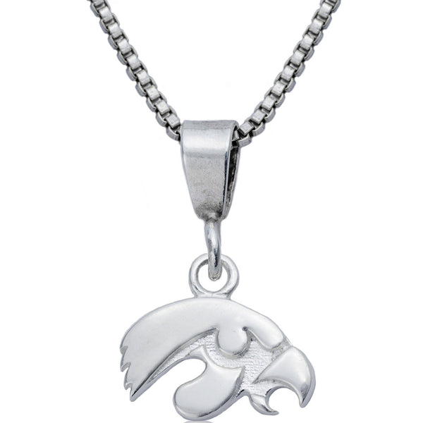 Collegiate University of Iowa Hawkeyes Necklace