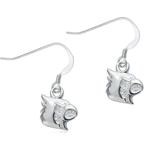Collegiate University of Louisville Cardinal Dangle Earrings
