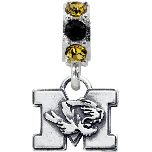 Collegiate University of Missouri Colorful Spirit Slider Bead