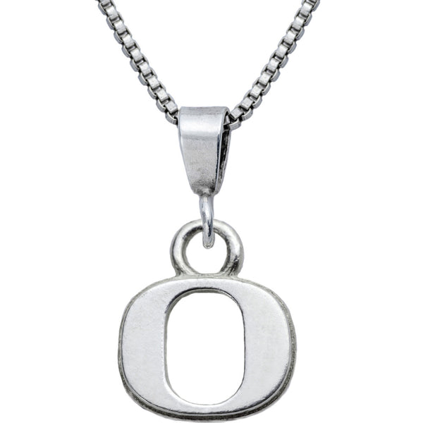 Collegiate University of Oregon Logo Necklace