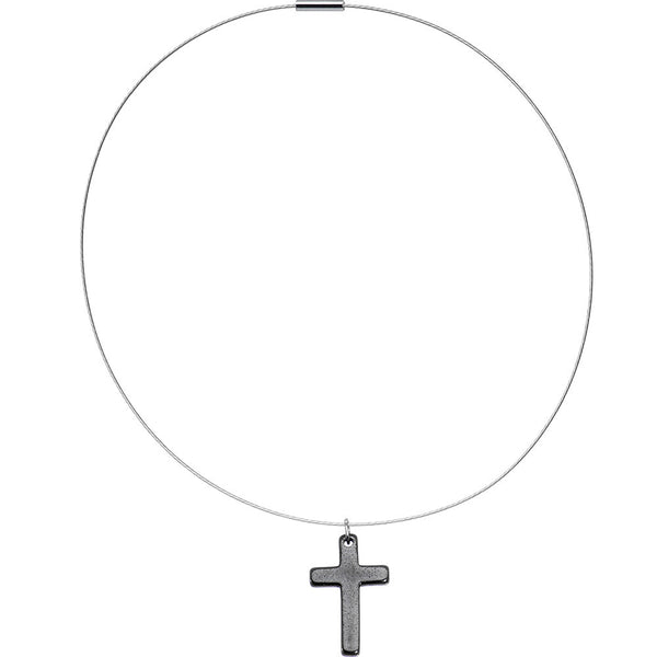 Hemalyke Cross Choker Necklace