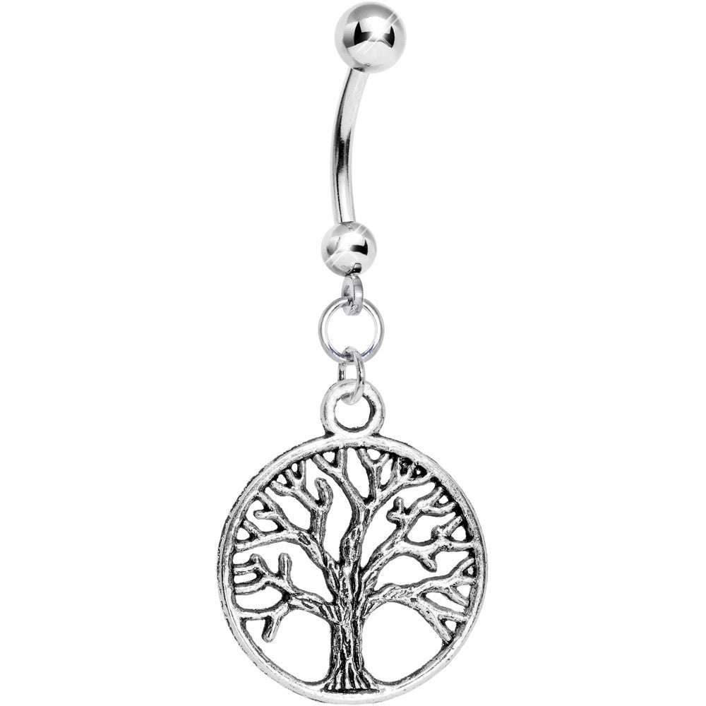 Tree of life ornament - Tree Of Life Belly Ring