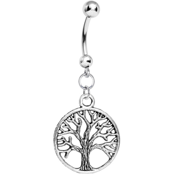 Tree of Life Belly Ring
