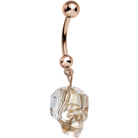Rose Gold Belly Button Rings Bodycandy
