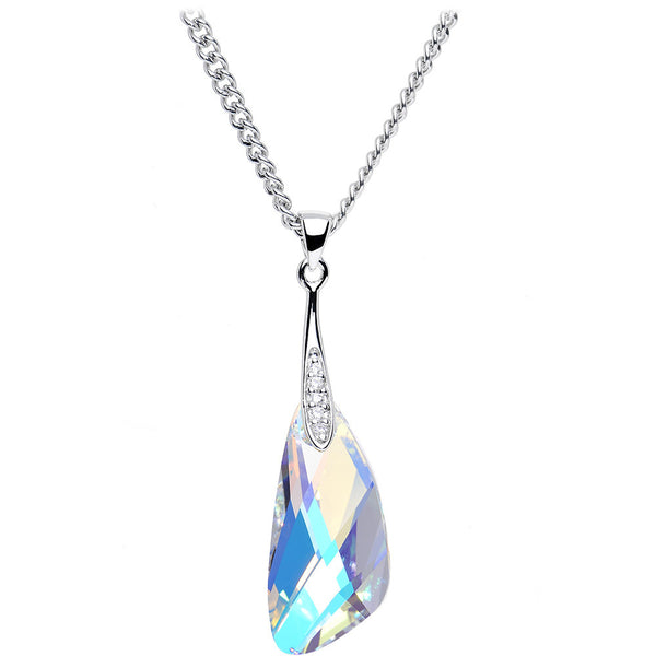 Aurora Crystal Inspire Necklace Created with Swarovski Crystals