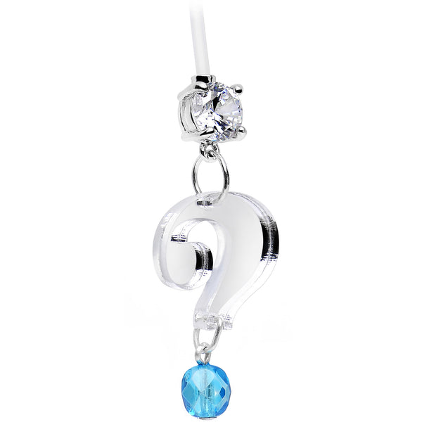 Custom Handcrafted Surprise Birthstone Pregnancy Belly Ring