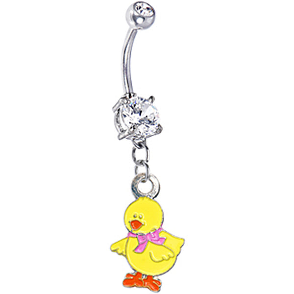 Yellow Chick Belly Ring