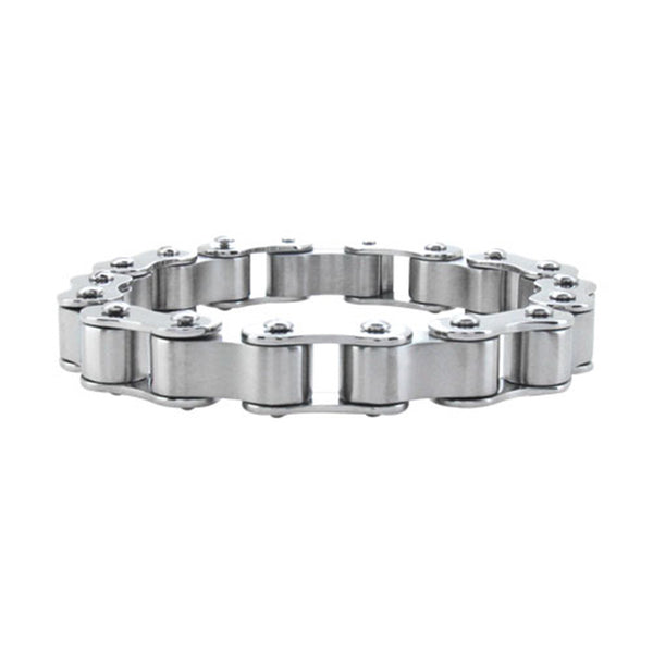 Inox Jewelry Men's Stainless Steel Motorcycle Chain