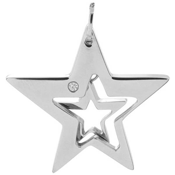 Inox Jewelry Women's Super Stars Pendant