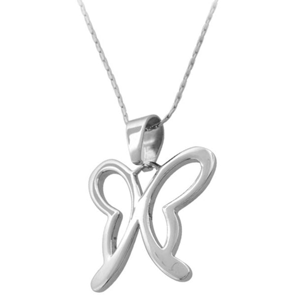 Inox Jewelry Women's Contempo Butterfly Pendant