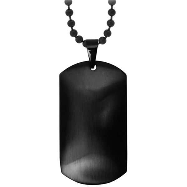 Inox Jewelry Enigmatic Shadows Dog Tag Pendant