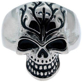 Size 12 - Inox Jewelry Skull 316L Stainless Steel Ring