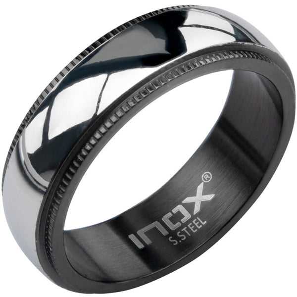 Inox 316L Stainless Steel Sleek Men's Spinner Ring