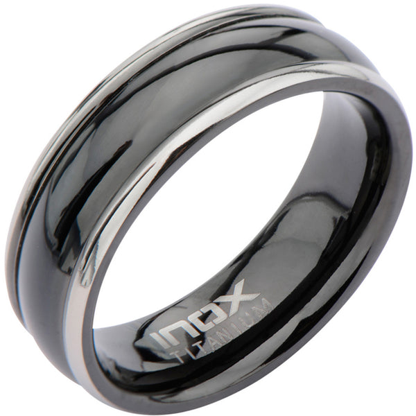 Inox Titanium Pitch Men's Ring