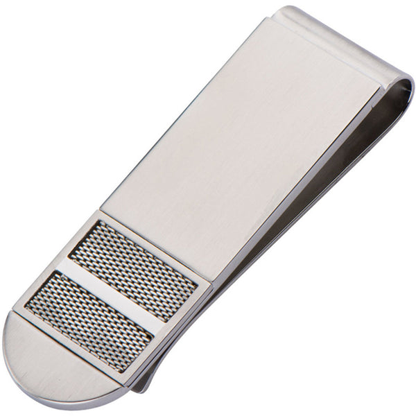Inox 316L Steel Mesh and Polished Finish Money Clip