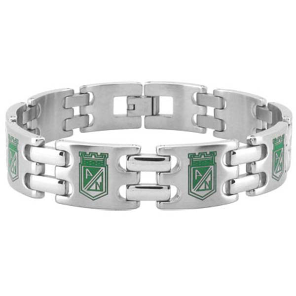 9.25 Inches - Inox Jewelry Columbia Athletic National Football/Soccer Team 316L Stainless Steel Bracelet