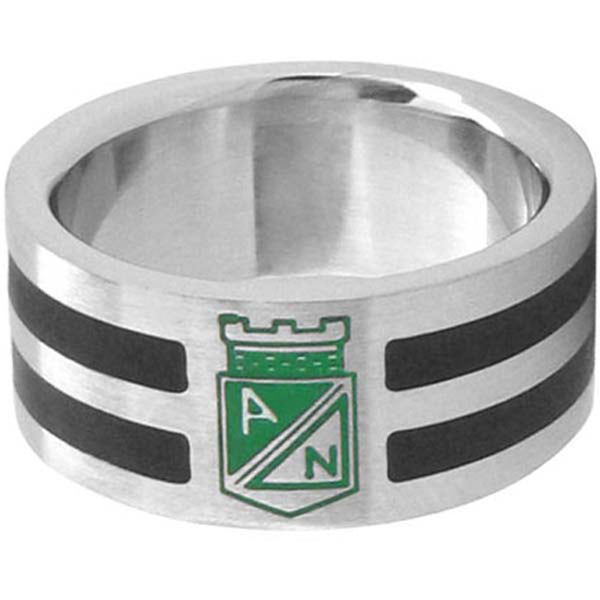 Inox Jewelry Columbia Athletic National Football/Soccer Team 316L Stainless Steel Ring