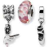 Reflection Beads Silver Tiny Dancer Boxed Bead Set