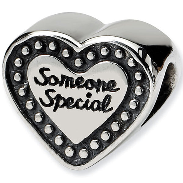 Reflection Beads Silver Heart Someone Special Family Bead