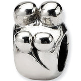 Reflection Beads Silver Family of Four Family Bead