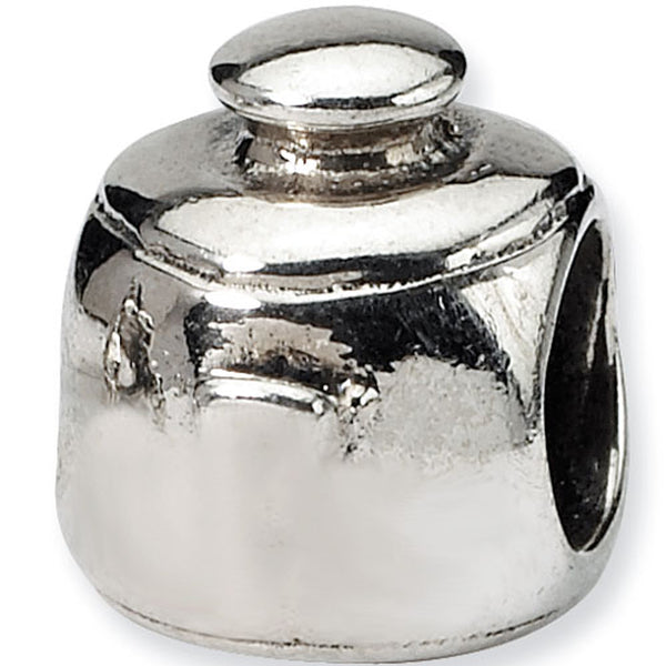 Reflection Beads Silver Cooking Pot Home Bead